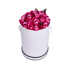 Luxury Rose Delivery Round Boxes